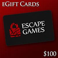 GTA Escape Games Gift Card