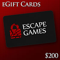 North York Escape Room Gift Card