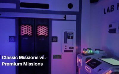 Classic Missions vs Premium Missions
