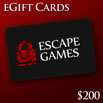Escape Room Gift Card
