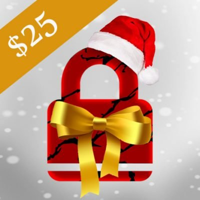 escape room gift card $25